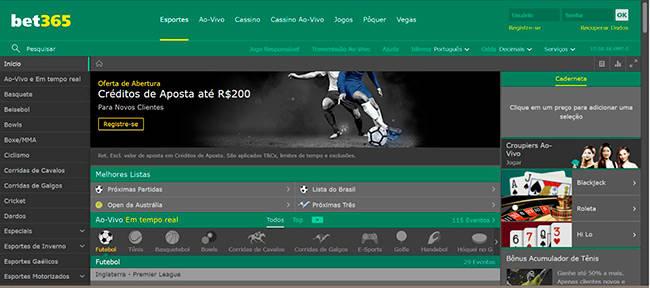 Bet365 Esportes e Futebol