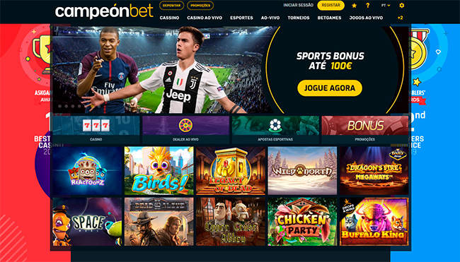 Campeonbet home page