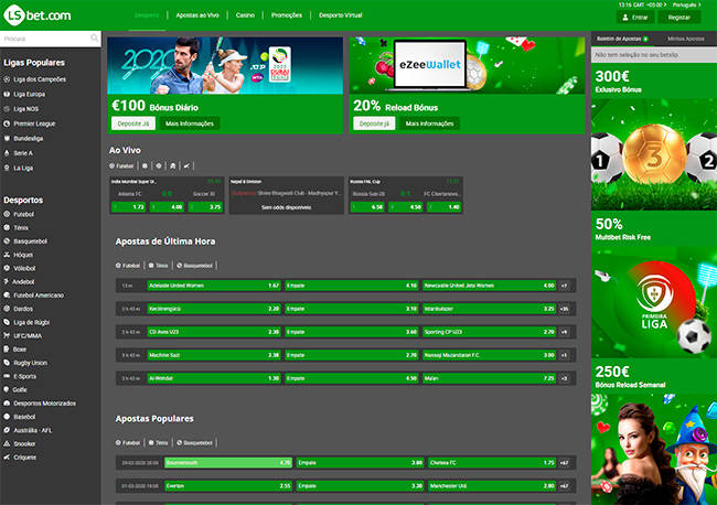LSbet home page