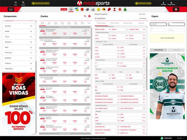 Marjiosports home page