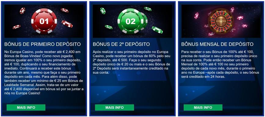 Europa Casino Bonus